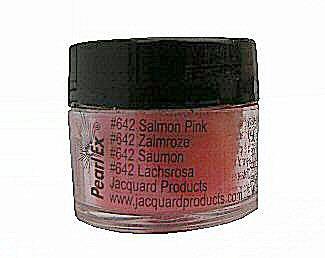 Salmon pink (642) Pearlex