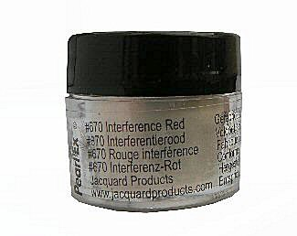 Interference red (670) Pearlex