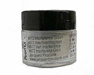 Interference green (672) Pearlex