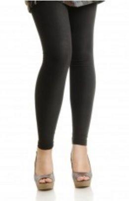 9fe055683316f9 Mysasi Fleece Lined Footless Leggings in Black One Size