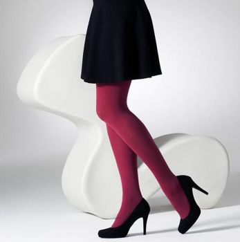 """Hips 254cm Plus Size 20 Denier Run Resistant Chocolate Brown Tights up to 100/"""""""