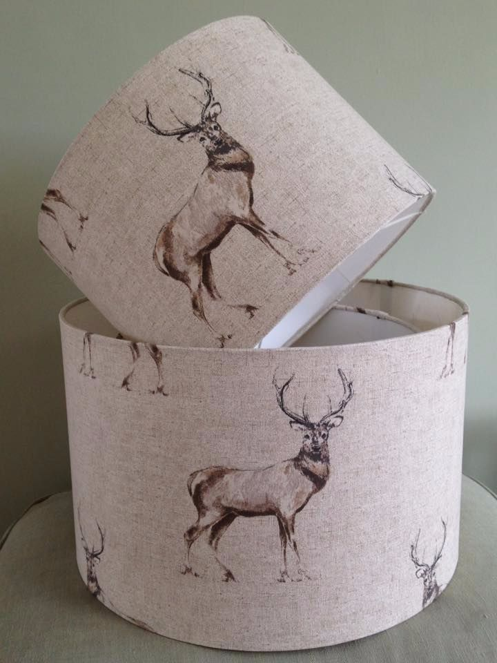 Lampshade- Glencoe Stag