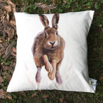 Running Hare Cushion