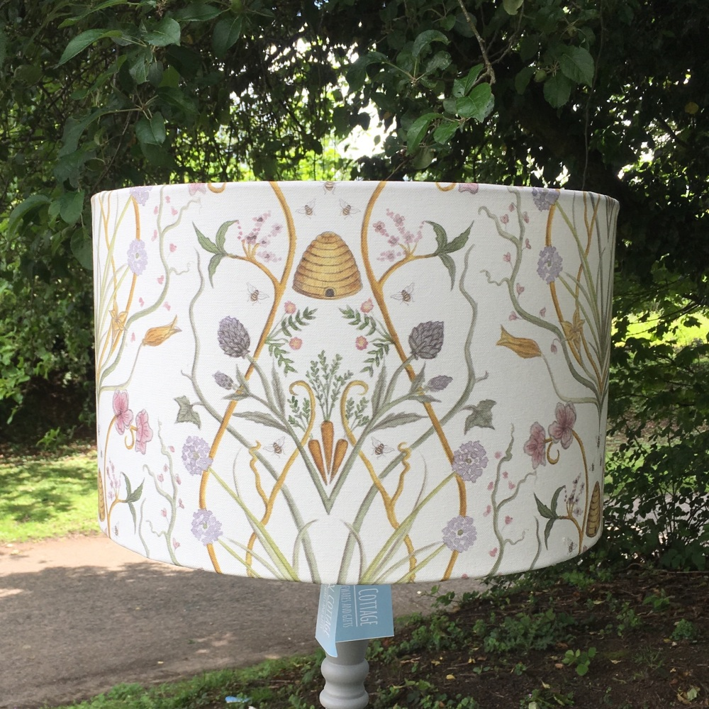 New Product Lampshade- Potagerie by Angel Strawbridge