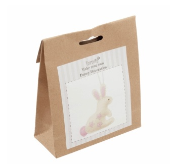 Felt Hanger Sewing Kit - Bunny
