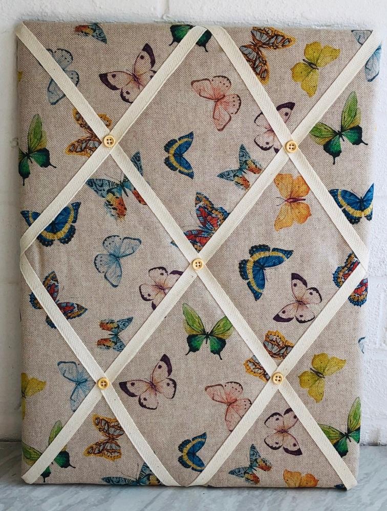 Memo Board 42cm x 31cm- Butterflies
