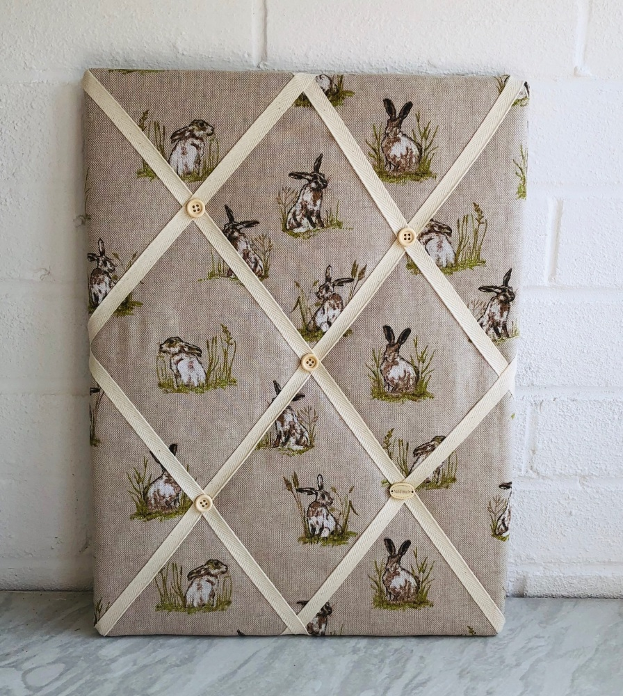 Memo Board 42cm x 31cm - Mini Hares