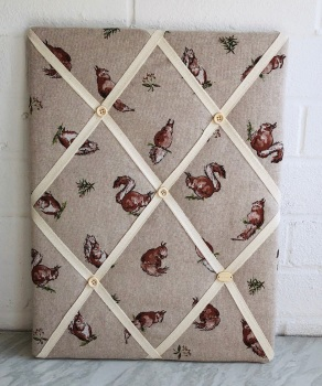 Memo Board 42cm x 31cm -Squirrel