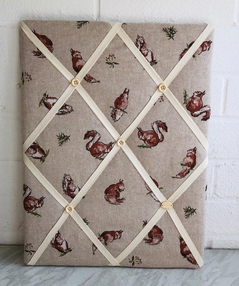 Memo Board 42cm x 31cm -Squirrel