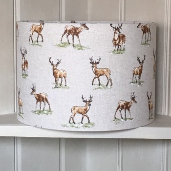 Lampshade- Mini Stag Print