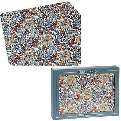 William Morris Golden Lily Placemats