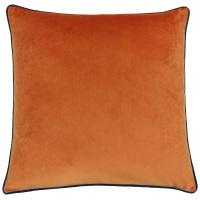 Large Velvet Cushion - Tiger and Teal