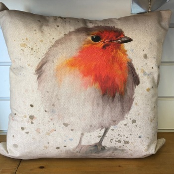 Reversible Robin Cushion