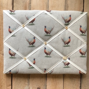 Memo Board 42cm x 31cm - Country Pheasant