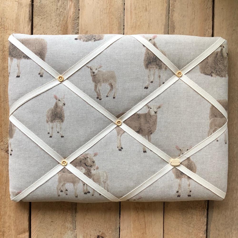 Memo Board 42cm x 31cm - Sheep