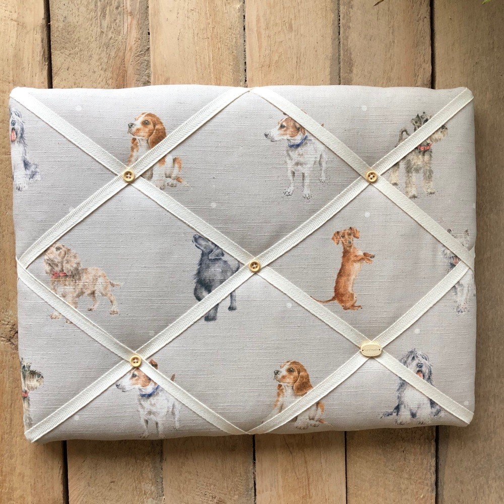 Memo Board 42cm x 31cm - Wrendale Dogs