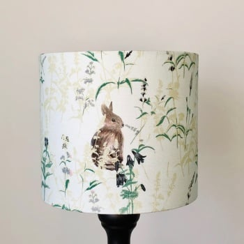 Lampshade - Duck Egg  Lakeside Rabbit