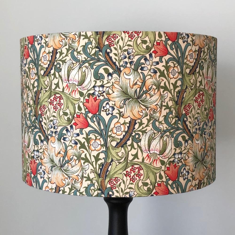 Lampshade- William Morris Golden Lily