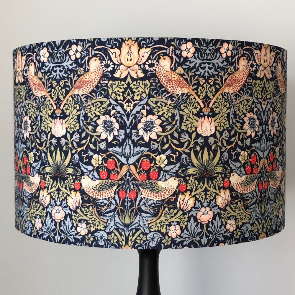 Lampshade - William Morris Strawberry Thief