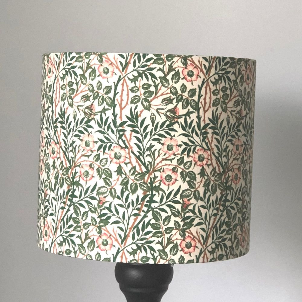 Lampshade - William Morris Sweet Briar 20cm