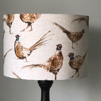 Lampshade - Brown Pheasant