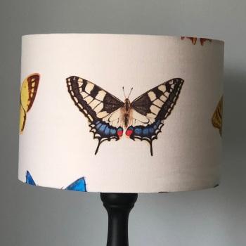 Lampshade - British Butterflies