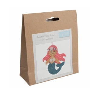 Felt Hanger Sewing Kit - Mermaid