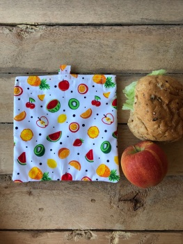 Reusable Snack and Sandwich Bags - Fruit