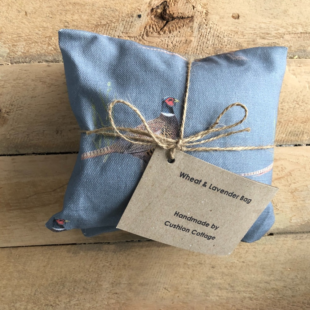 Wheat and Lavender Bag - Grey Pheasant