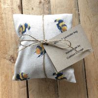 Wheat and Lavender Bag - Bees