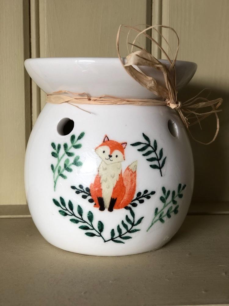 Wax Melt and Oil Burner - Fox