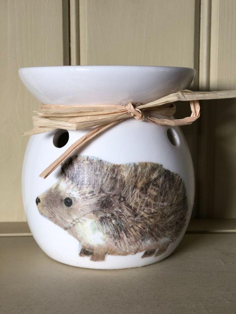 Wax Melt and Oil Burner - Hedgehog