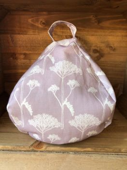 Tablet and iPad Bean Bag - Lilac Yarrow