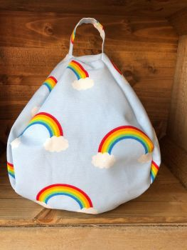 Tablet and iPad Bean Bag - Rainbow