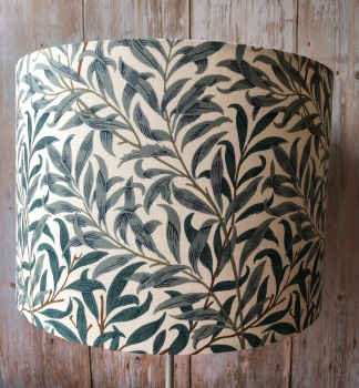 Lampshade - William Morris Willow Bough Green
