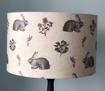 Lampshade - Country Hares