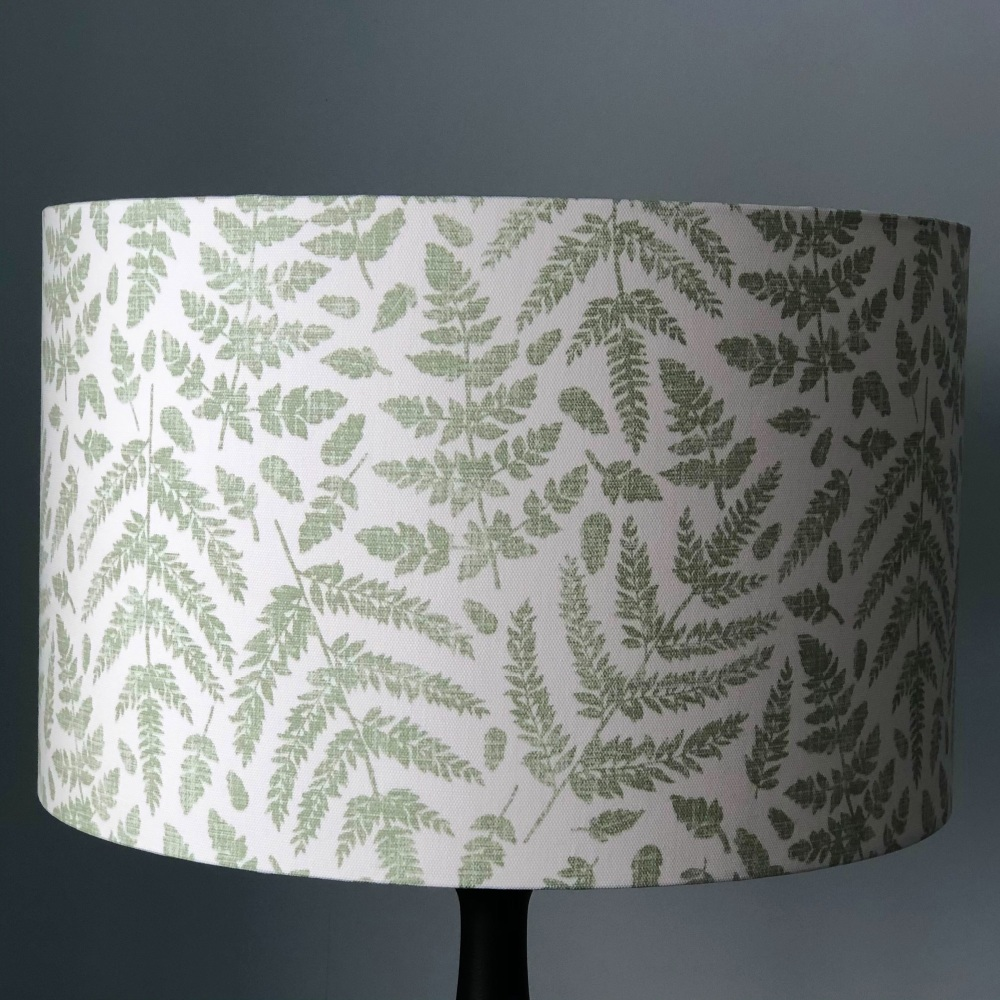 Lampshade - Green Ferns