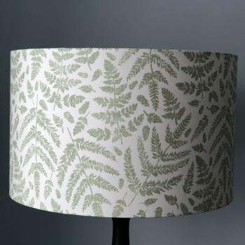 Lampshade - Green Ferns