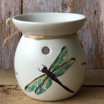 Wax Melt and Oil Burner - Dragonfly