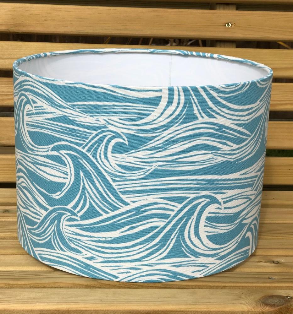 Lampshade - Surf Aqua