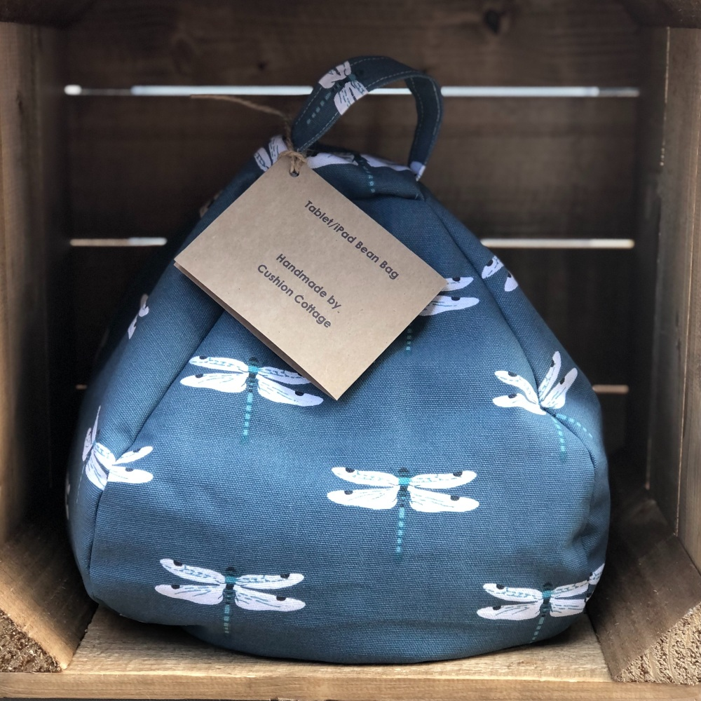 Tablet and iPad bean bag- Sophie Allport Dragonfly