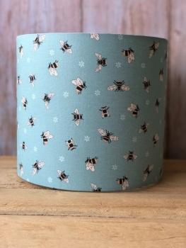 Lampshade - Queen Bee Teal - 20cm