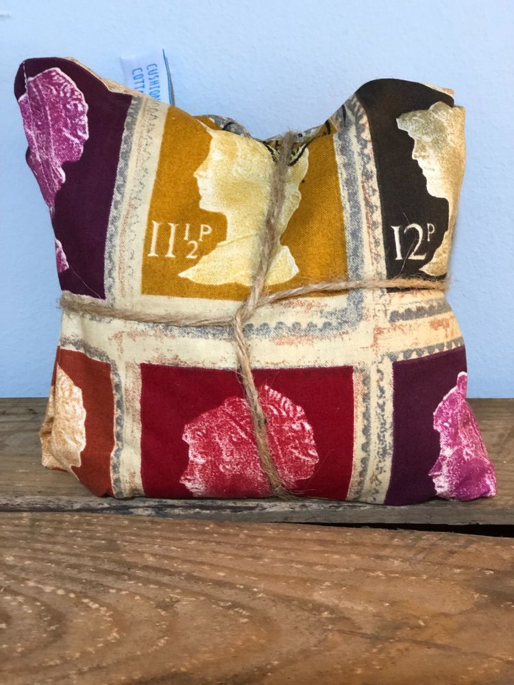 Wheat and Lavender Bag - Stamps