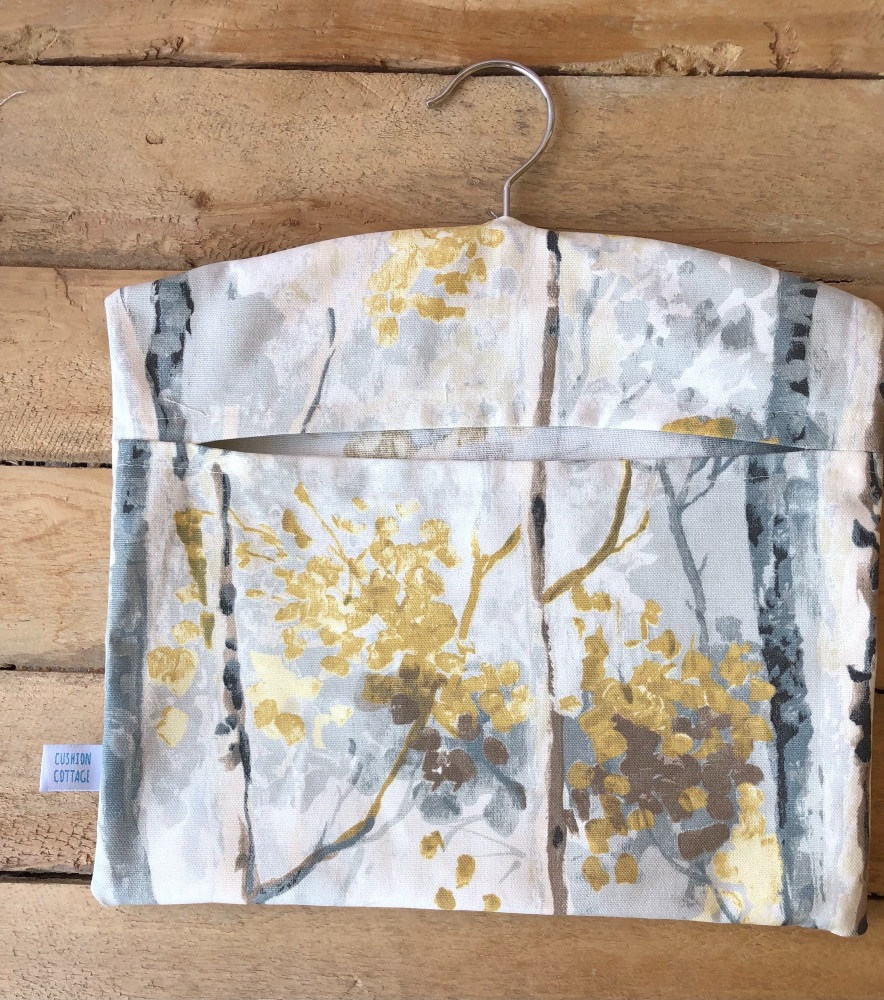 Handmade Peg Bag - Silver Birch
