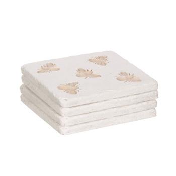 Bee Imprint Coasters