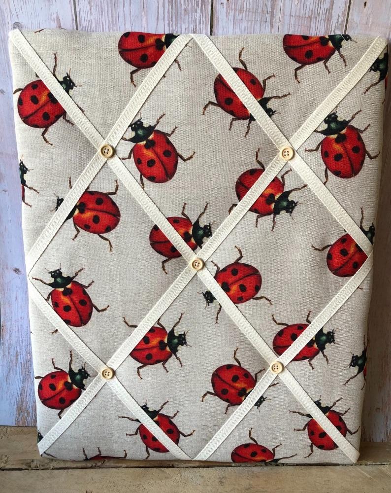 Memo Board 42cm x 51cm - Ladybirds