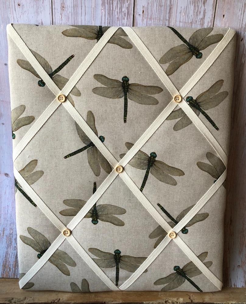 Memo Board 42cm x 51cm - Dragonflies