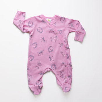 Strawberry Woodland Sleepsuit