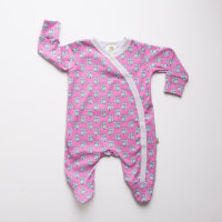Raspberry Fox Sleepsuit