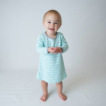 Forest Deer A Line Baby Dress